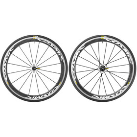 Mavic Cosmic Pro Carbon 17 Wheelset Shimano 25 white